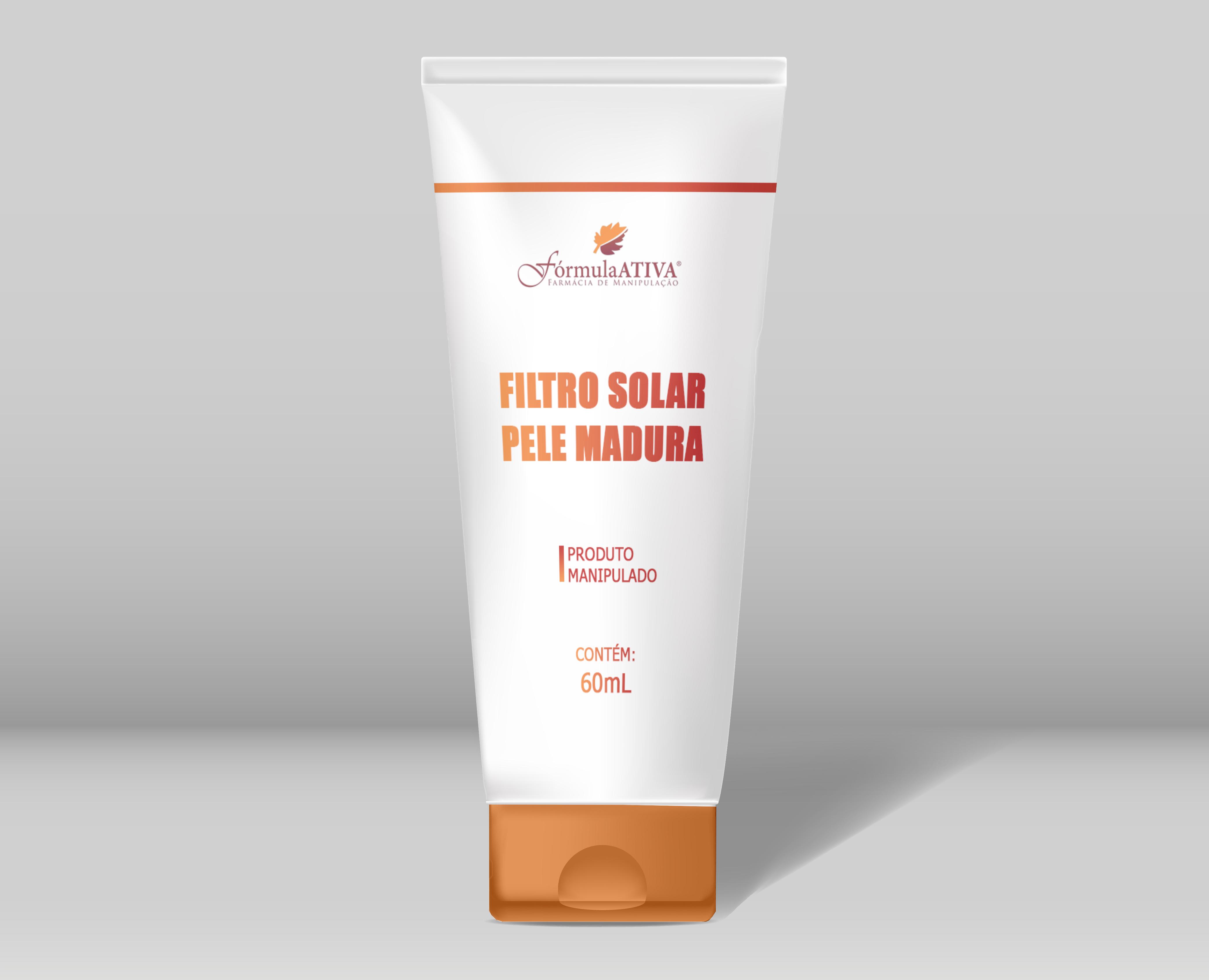 Filtro Solar para Pele Madura (FPS 50 - 60g)