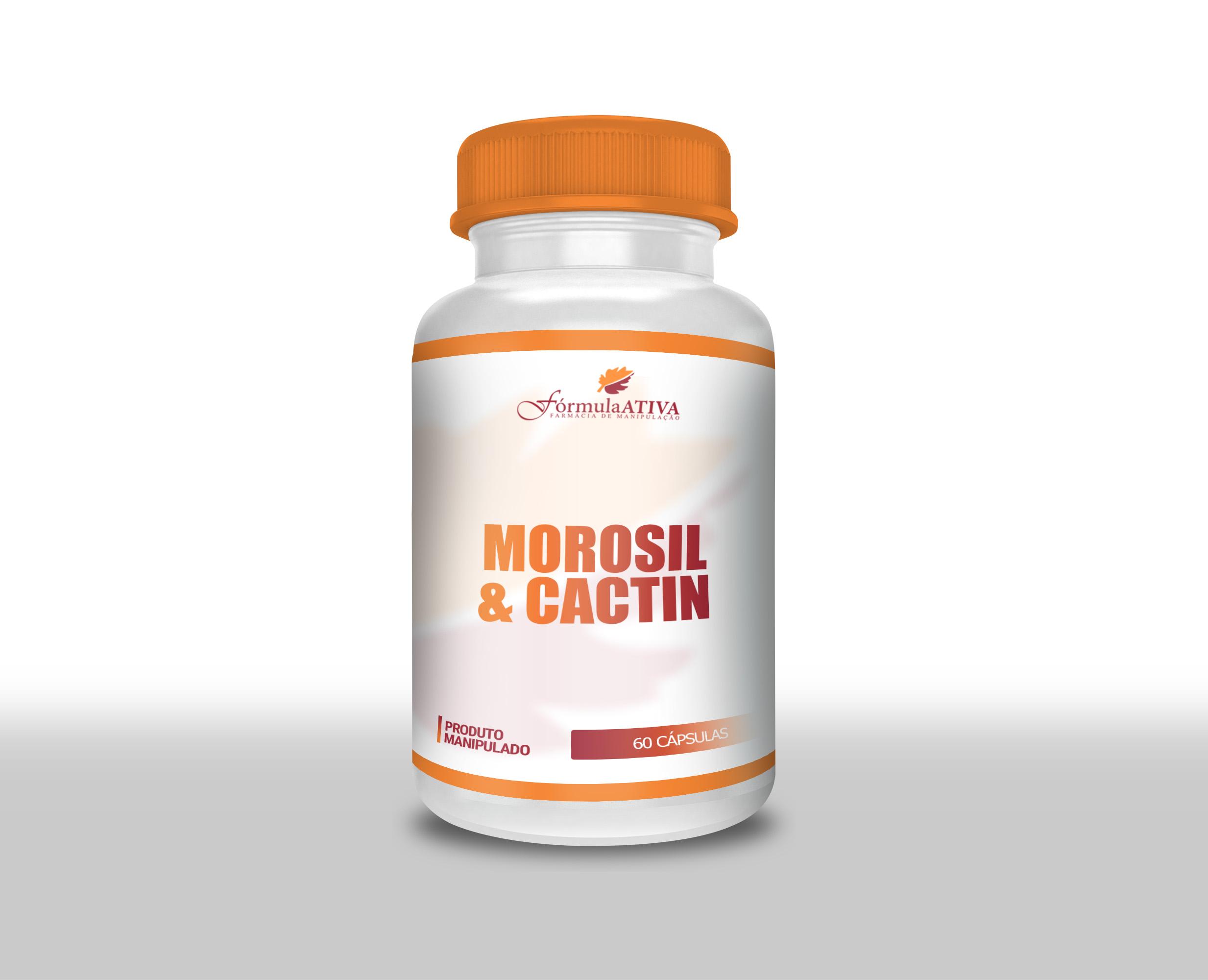 Cactin (500mg) + Morosil (500mg) - 30 doses