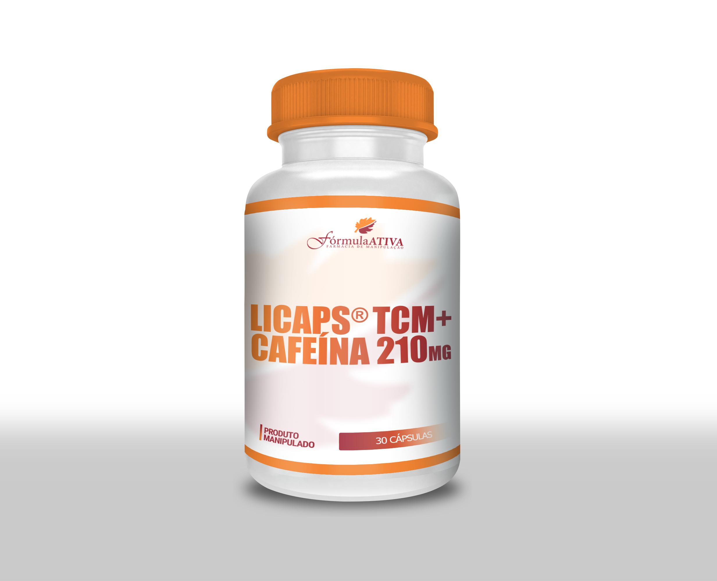 Licaps TCM + Cafeína (210mg - 30 doses)