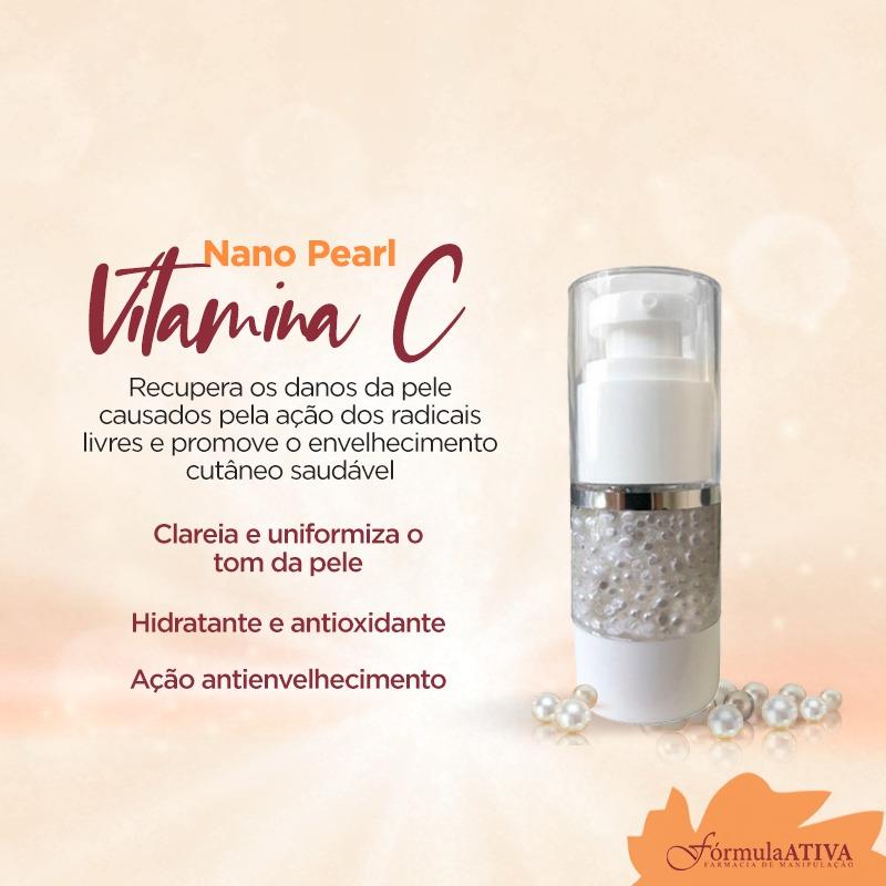 Nano Pearls Vitamina C (15mL)