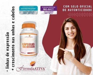 Cápsulas da Beleza (Composto - 30 doses)