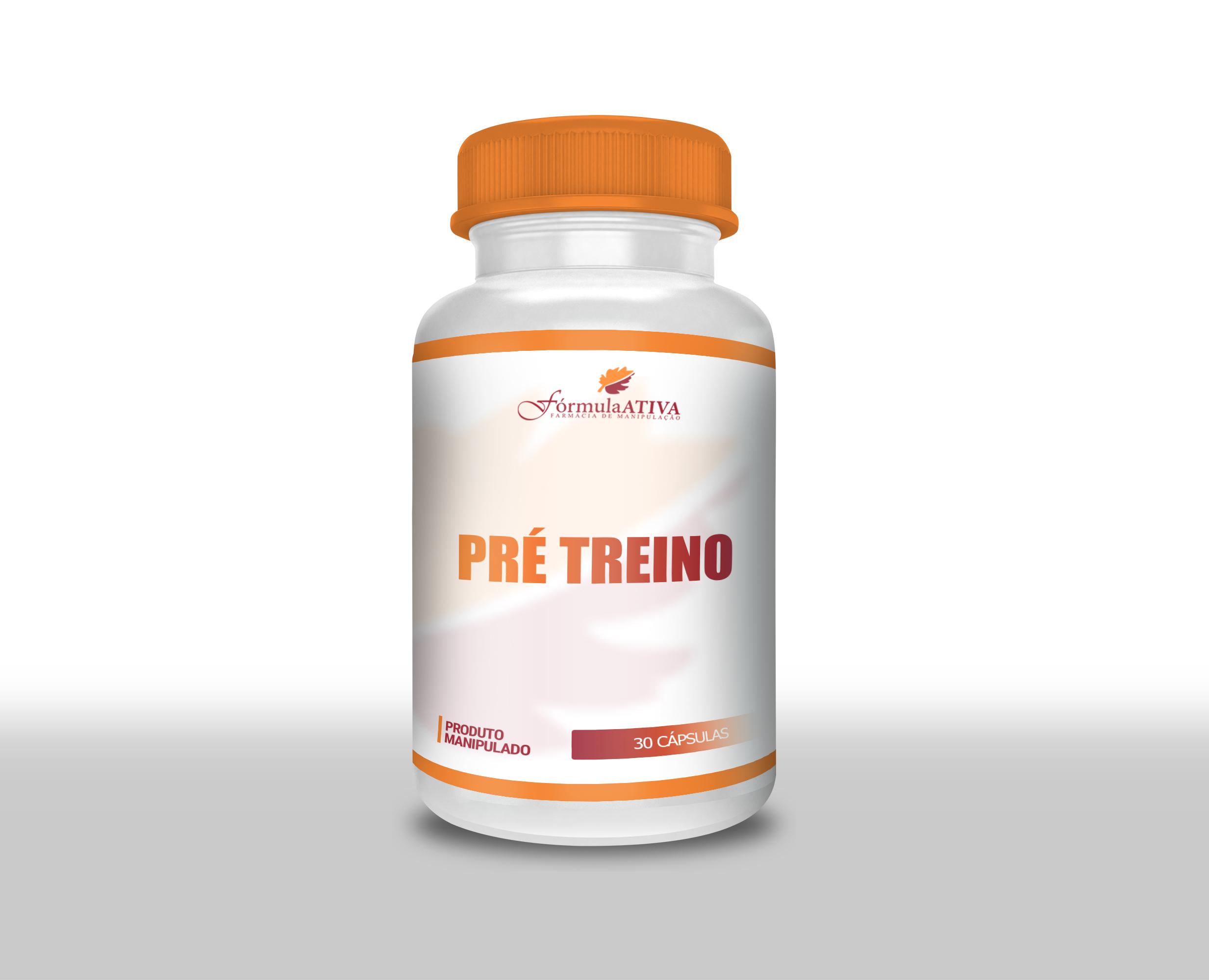 Pré Treino (Composto - 30 doses)